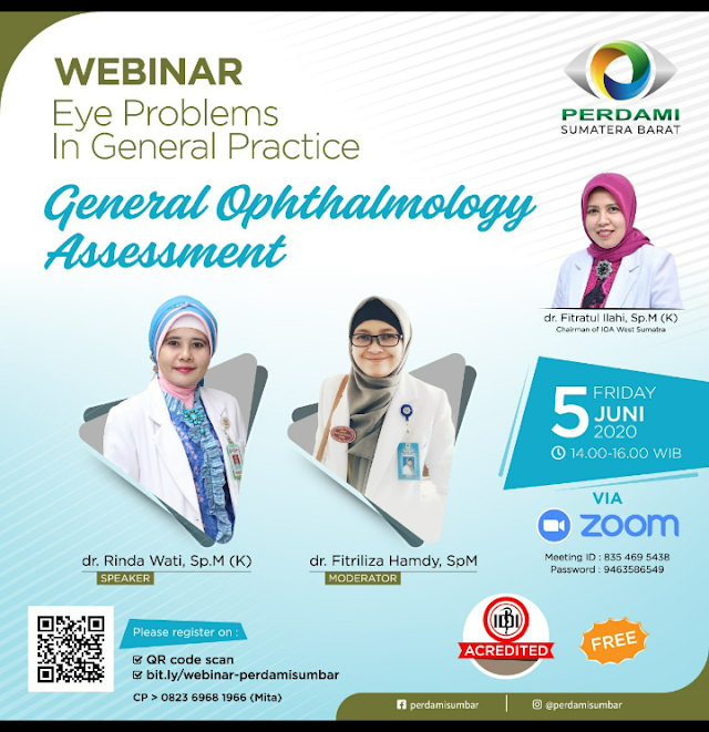 Zoom Webinar   *Update on Laryngeal Cancer*  Jumat, 5 Juni 2020 pk 13.00-16.00 WIB