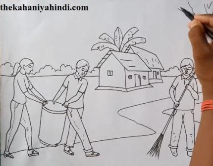 Swachh Bharat Abhiyan Essay in Hindi for Students - thekahaniyahindi
