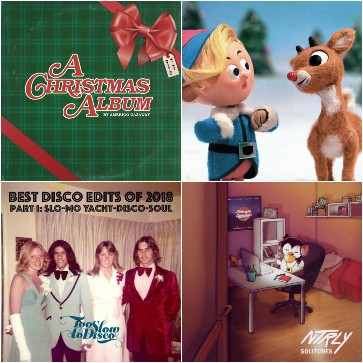 Musik Montag im Zeichen des Weihnachtsmanns | Amerigo Gazaway x DJ Harisson x NTRLY x DJ Supermarkt | Beattapes