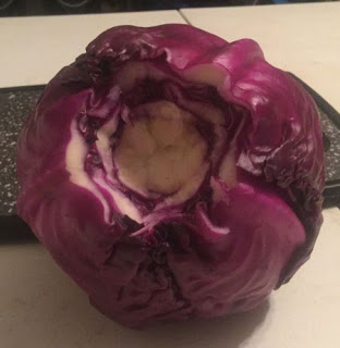 Uses for red cabbage, purple cabbage, dehydrating cabbage, preserving the harvest, uses for dried cabbage, uses for dehydrated cabbage