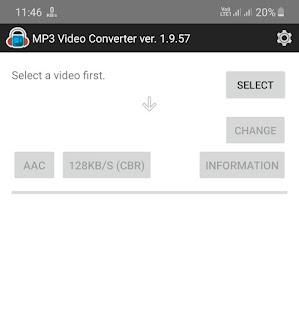 MP3 Video Converter app