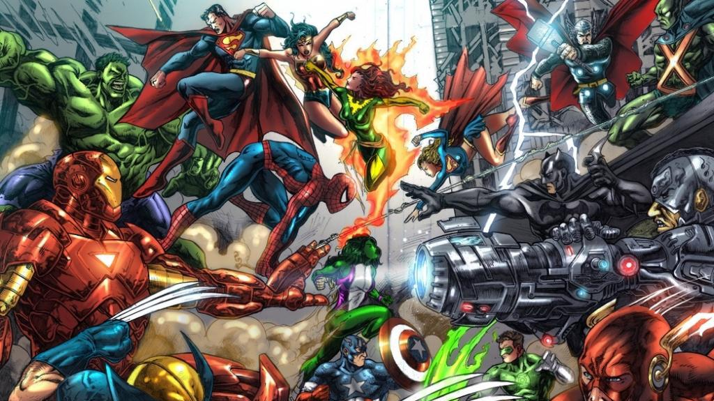 Top 10 Greatest Comic Book Superheroes - SFX UK Poll