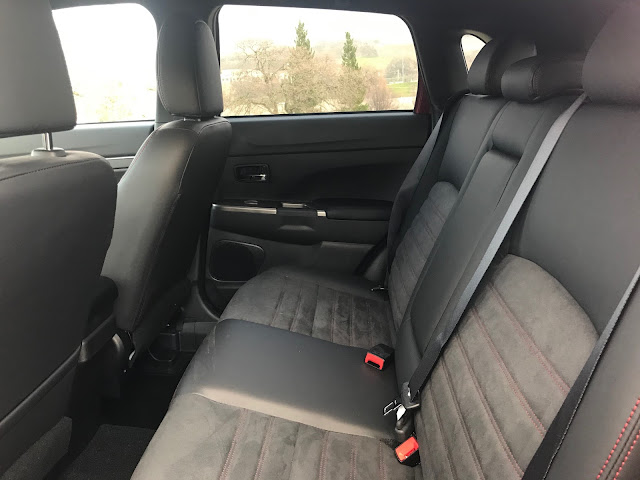 Rear seat view of 2020 Mitsubishi Outlander Sport 2.4 GT AWC