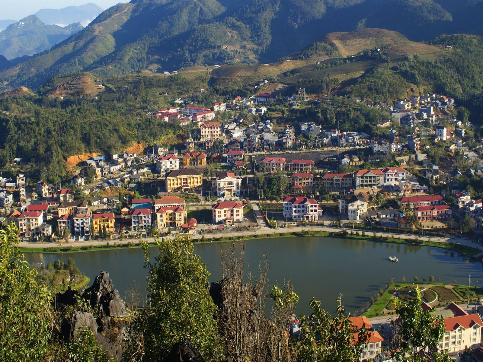 Sapa mountains of northern Vietnam - Sapa City - Vietnam