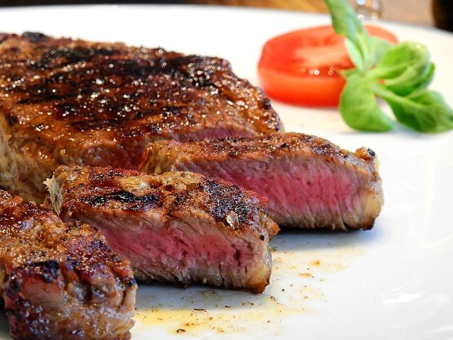 Steak Grilled Medium-Rare