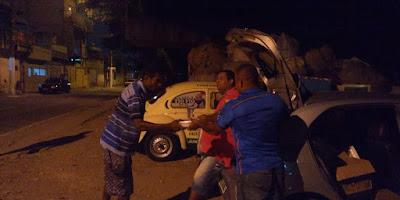 Entrega de Marmitas a Moradores de Rua e Outras Atividades do Fusca do Bem