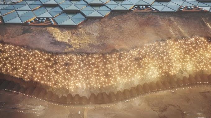 Así sería la primera ciudad humana en Marte
