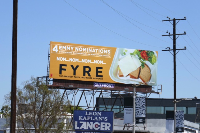 Fyre 4 Emmy nominations billboard