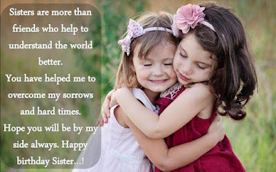 Sister Status in English