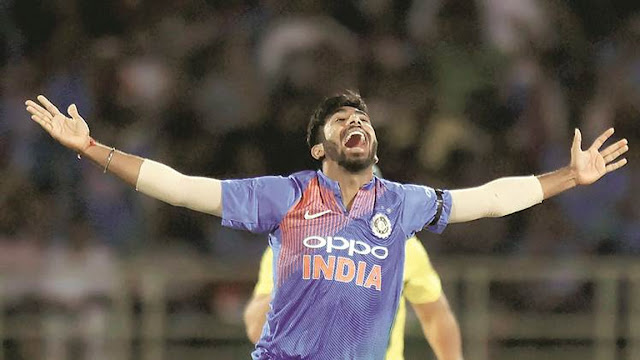India vs Australia 1st T20I: Jasprit Bumrah with the ultimate penultimate over