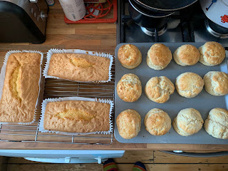 Scones and Cakes