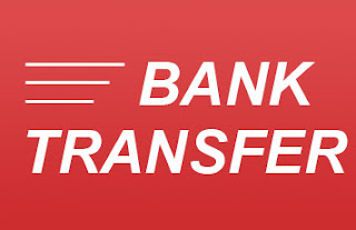 الدفع عن طريق الحوالات المصرفية : bank transfers