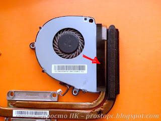 Восстановление наклеек для крепления вентилятора ноутбука