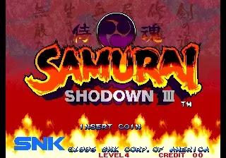 Samurai Shodown III / Samurai Spirits - Zankurou Musouken (NGH-087)