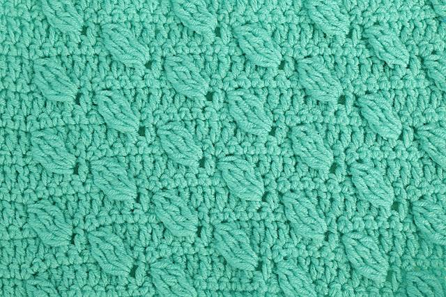 5-Crochet Imagenes Puntada de hojas a relieves a crochet y ganchillo por Majovel Crochet