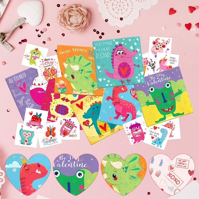 35% OFF Valentine Dinosaur Card
