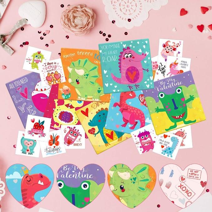 35% OFF Valentine Dinosaur Card