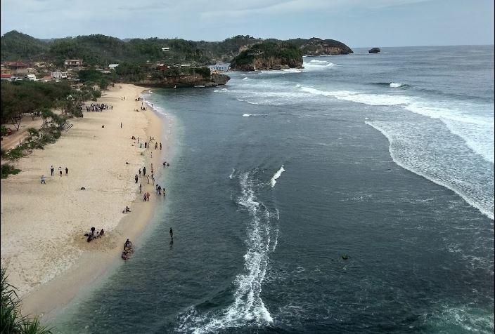 Pantai Watu Kodok : Harga Tiket Masuk dan Fasilitas serta penginapan terdekat 2020