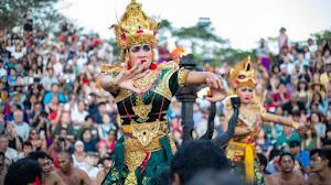 20 Gambar Tari Kecak Dari Bali