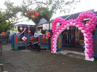 aneka balon gate dekorasi by wahanaballoon