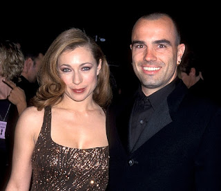 Picture of Florian Haertel with his ex-wife Alex Kingston
