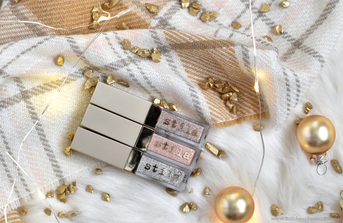 Bloggin' around the Christmas Tree - Türchen 20 - STILA Glitter & Glow Liquid Eye Shadow Set