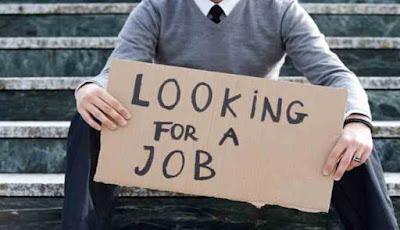 Pengangguran mencari pekerjaan