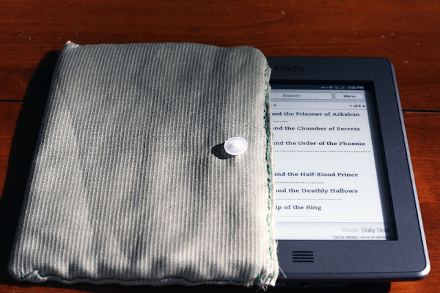diy kindle touch case