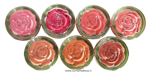 Neve Cosmetics - Blush Garden. Saturday Rose, Sunday Rose, Monday Rose, Tuesday Rose, Wednesday Rose, Thursday Rose, Friday Rose