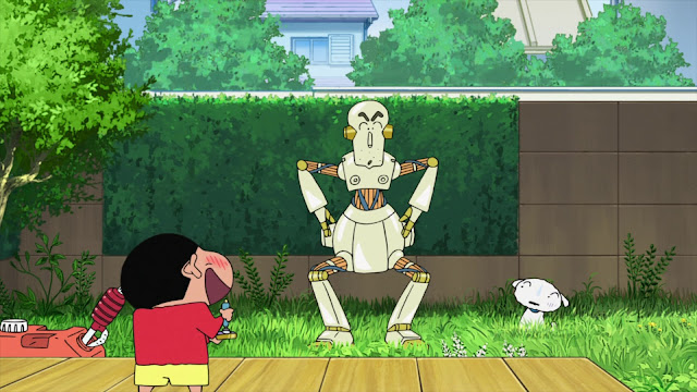Shinchan Movie : Robot Dad