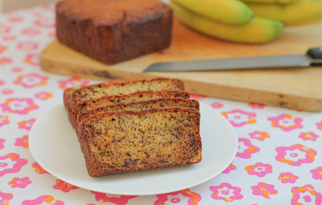 Food Lust People Love: Truly a recipe that has stood the test of time, Margy's best banana bread is tender, rich and flavorful loaf, made with butter as well as sour cream. Plain or toasted, it is the perfect snack at the office or at home. This one-bowl recipe makes clean up a breeze, easily done even as the loaf is baking in the oven. It goes great with both a hot cup of tea or coffee. And honestly, even a cold glass of milk.
