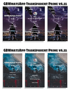 GBWhatsApp Transparent Prime v6.55