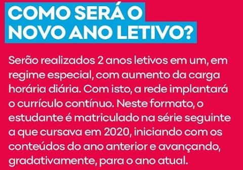 """""""O Brasil não tem povo, tem público"""": o início das aulas remotas na rede estadual"""