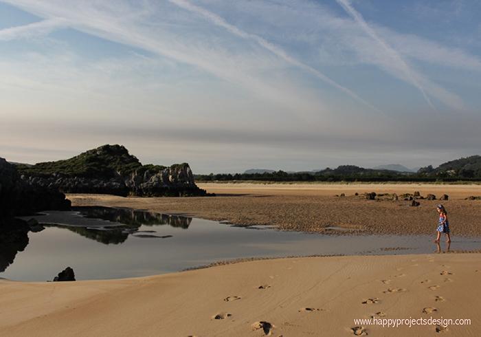 Playa Joyel en Cantabria