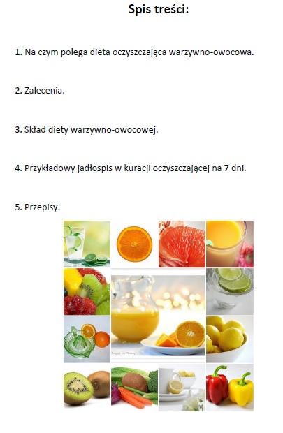 Kuracja warzywno-owocowa
