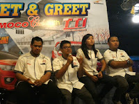 Meet & Greet Nasmoco Club With Toyota Team Indonesia (TTI)