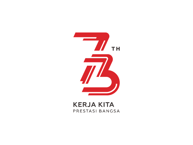 Logo Kemerdekaan NKRI Ke 73 Format CorelDRAW HD
