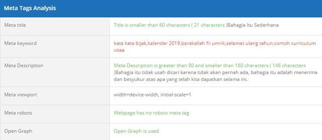 homepage meta tags