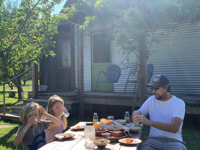 Secluded Family Vacation in Mendocino County