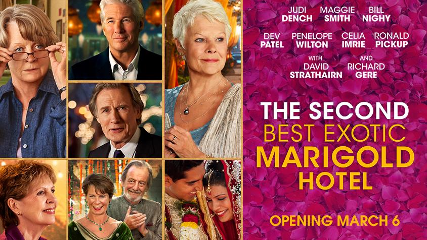 The Second Best Exotic Marigold Hotel 2017