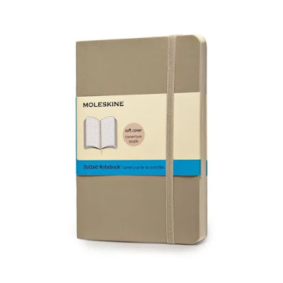 review buku moleskine dotted journal  dotted journal