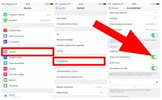 Cara Flash Berkedip di iPhone Pada Saat Menerima Telepon