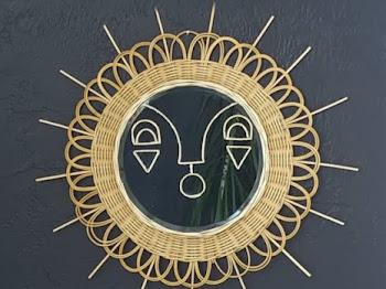 Copy Cat Sunburst Mirror DIY
