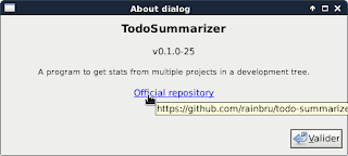 A clickable label used in todo-summarizer