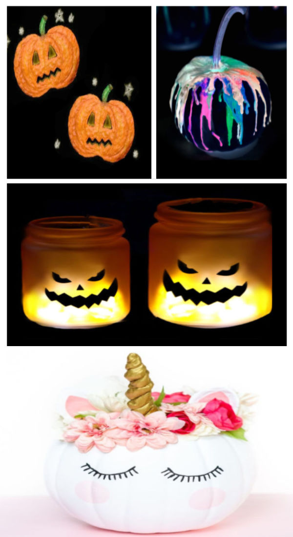 Pumpkin crafts and activities for kids including how to make glowing jack-o-lantern slime. #halloween #halloweenslime #halloweenslimerecipe #pumpkinrecipes #pumpkincrafts #pumpkinactivities #pumpkinsensory #pumpkinslime #pumpkinslimerecipeeasy #pumpkinslimeforkids #slimerecipe #slime #glowingslime #growingajeweledrose #activitiesforkids