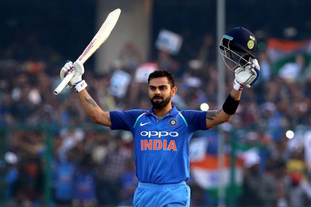 Virat Kohli becomes the fastest player to score 20,000 international runs