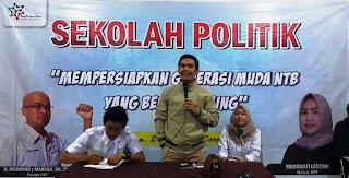Nurdin Ranggabarani jadi Guru Sekolah Politik