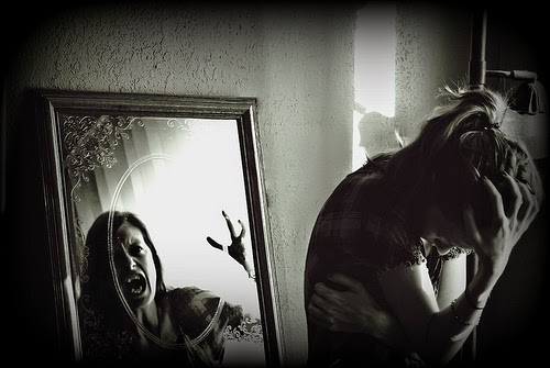 The monster in the mirror. Abby Kroke