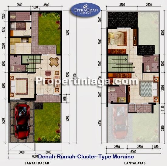 Denah-rumah-cluster-type-moraine