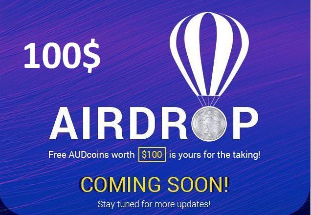 100$ Worth Aussie Exchange Airdrop